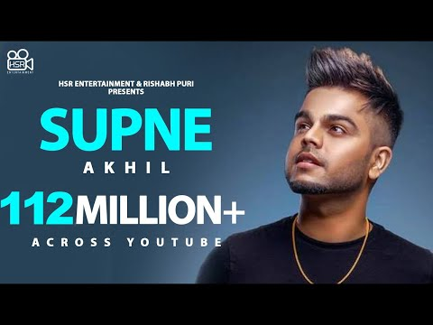 Download Supne - Akhil | Official | Full Video Song | Latest Punjabi Love Songs | Yellow Music