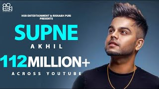 Supne - Akhil | Official | Full Video Song | Latest Punjabi Songs 2014 | Yellow Music