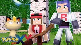 Minecraft: Pokemon X Y - SEQUESTRARAM A SERENA! #8