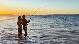 Fraser island fishing 2016