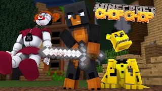 Minecraft CHOP CHOP - DONUT CHOPS OFF GOLDEN FREDDY'S HEAD - Donut the Dog Minecraft Roleplay