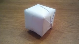How To Make A Paper Balloon (Water Bomb) - EASY Origami