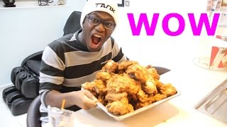 Eating 100 Pieces Of KFC Chicken