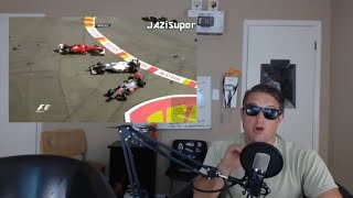 F1 Top 15 Crashes - Reaction