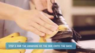 Insider's Tips (Episode 17): Polish shoes with a banana peel