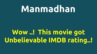 Manmadhan  2004 movie  IMDB Rating  Review   Complete report   Story   Cast
