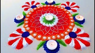 Simple and Beautiful Rangoli Designs || Latest Colourful Rangoli Designs for Festival