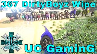 "Ark PS4 Official Server Wipe - UC GaminG ""367 DirtyBoyz Wipe"""