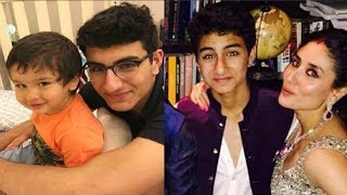 Taimur Ali Khan Big Brother Ibrahim Ali Khan Looks Bollywood Ready In This VIdeo