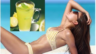 How to Burn Stomach Fat with Daily Lemon Water and Moderate Exercise