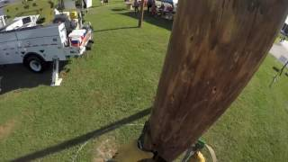 Hurt Man Competition at the 20th Annual Tennessee Valley Lineman Rodeo