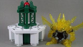 B-Daman Performance Test #8 (PART 2) - Crash-Cross Tower Takedown!