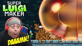 LUIGI SAID F#%K MARIO!!! [SUPER LUIGI MAKER U!]