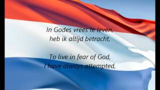 Dutch National Anthem -
