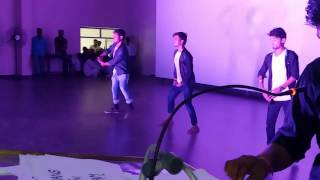 A Funny Dance in College Party