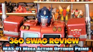 360 Swag Review: Toys Alliance Transformers MAS-01 Mega Action Optimus Prime unboxing