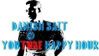 Danish Sait @YT creators day Benguluru /happyhour