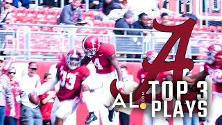 Highlights from Alabama's rout of The Citadel, 50-17