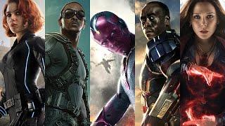 Captain America Civil War - Fotos y Videos del set Oficial.mp4