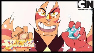 Steven Universe | Jasper takes the corrupted gems | Gem Hunt | Cartoon Network