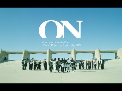 BTS 방탄소년단 ON Kinetic Manifesto Film Come Prima