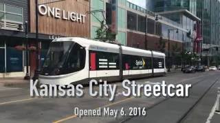 Kansas City Light Rail KC RideKC Streetcar