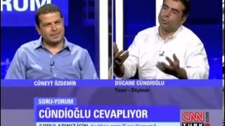 Dücane Cündioğlu'nun Hükümet-Cemaat gerilimi sorusuna cevabı