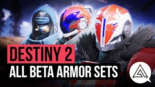 DESTINY 2 | All New Armor Sets for Hunter, Titan & Warlock