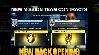 New Contracts - New Quartermaster Hacks Opening - FTL Gear Hack + Cosmetic Hack - Infinite Warfare