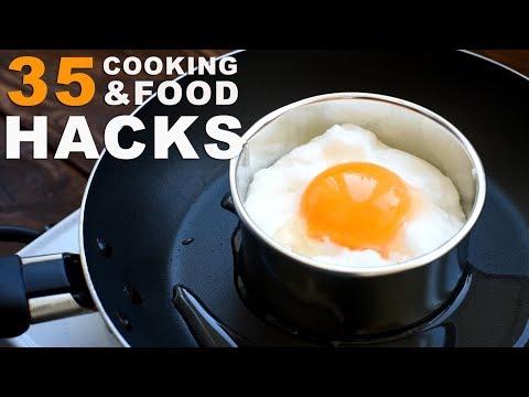 35 AMAZING COOKING TRICKS
