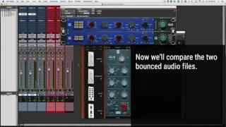 Slate FG-N EQ Compared To Acustica Audio GOLD HO73 EQ