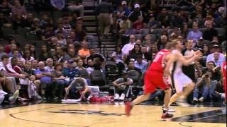 Matt Bonner Dunk!!!!
