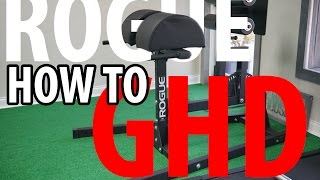 ROGUE FITNESS GHD - How to