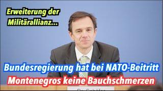 NATO-Erweiterung: Bundesregierung stimmt Beitritt Montenegros zu