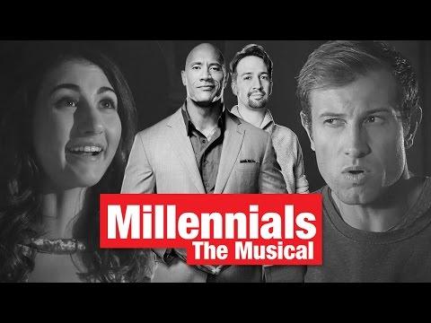 Lin Manuel Miranda & Dwayne The Rock Johnson Present Millennials The Musical
