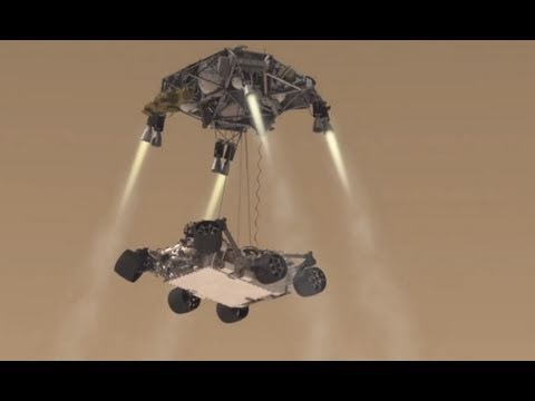 NASA Mars Science Laboratory Curiosity Rover Mission Animation HDx1280