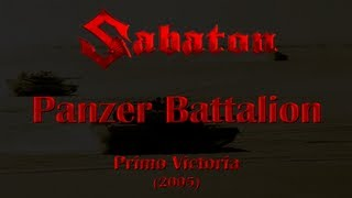 Sabaton - Panzer Battalion (Lyrics English & Deutsch)