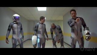 Lazer Team - The Champion of Earth Fight Clip