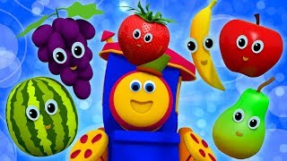 Fruits Song   Learning Street With Bob The Train   Nursery Rhymes For Toddlers by Kids Tv