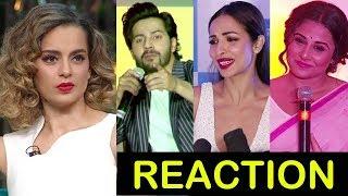 Bollywood Celebs Reaction On Kangana