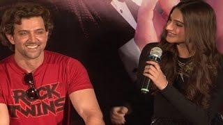 Sonam Kapoor FLIRTS with Hrithik Roshan | UNCENSORED VIDEO