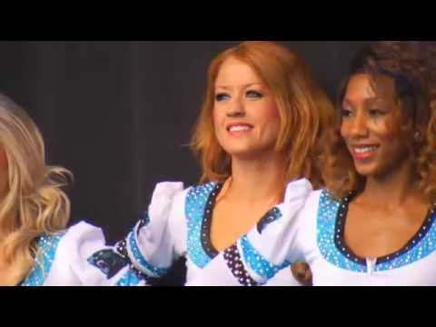 Panthers Cheerleader Dedicates Super Bowl Performance to Mom
