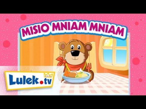 Misio Mniam Mniam Piosenki dla dzieci Lulek.tv