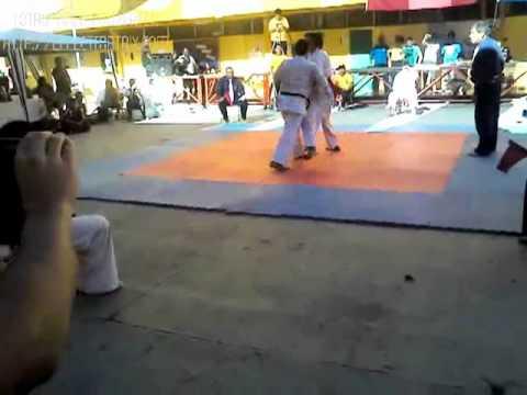 German Macaya Vs Cinta Negra Campeonato Kyokushin Pelea 1