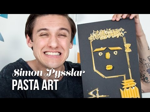 PASTA ART | Simon Pysslar