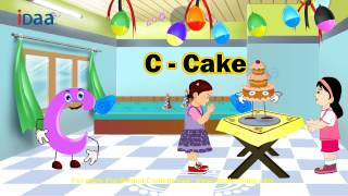 Learn English Alphabet - C (www.iDaaLearning.com)