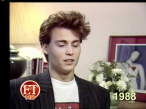 Johnny Depp ;  ET First Interview .