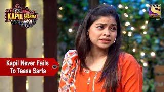 Kapil Never Fails To Tease Sarla - The Kapil Sharma Show