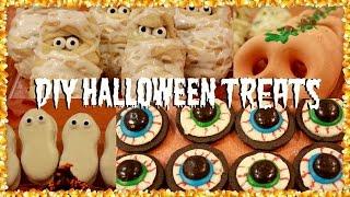 5 DIY Halloween Party Treats and Snack Ideas