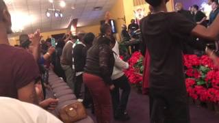 Crazy Praise Break at our New Years Encounter 2017!!!